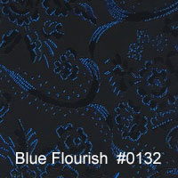 Blue Flourish 132
