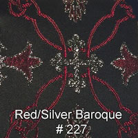 Red-silver-Baroque
