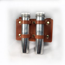 Sample Holder with 2 metal tubes