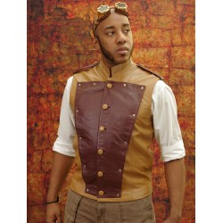 Leather Crewman's vest