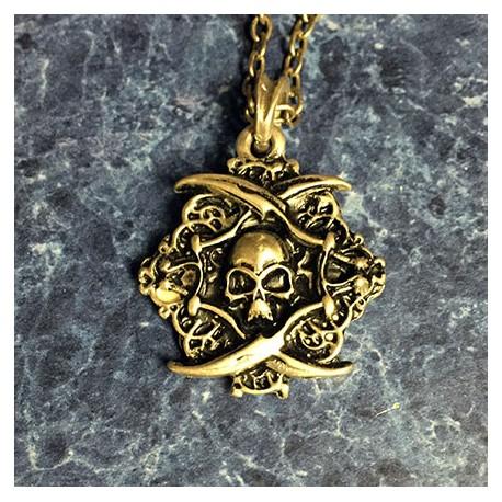 Skull and Bones pendant