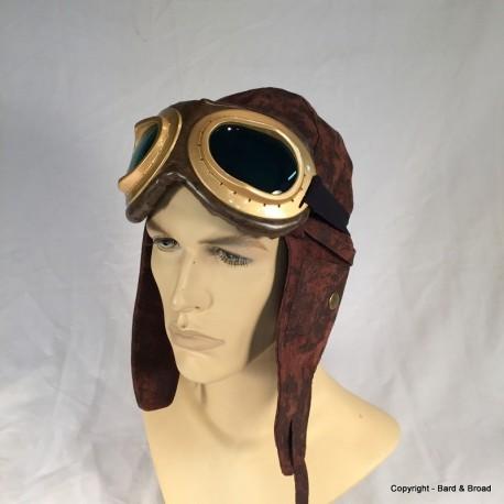 Gold Aviator Goggles