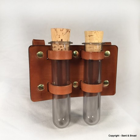 Sample Holder with 2 tubes
